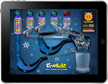 BinoBalls iPad App Screen