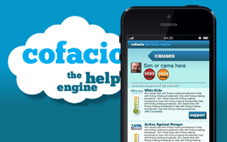 Cofacio iPhone App