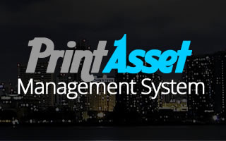 Print Asset Management System Java